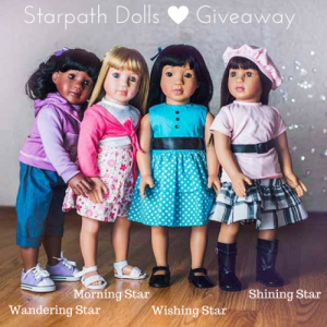 Starpath Dolls – 18.5 inch Doll Giveaway Ends 6/17