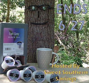 Stash Tea Earl Grey Single-Cup Tea Giveaway