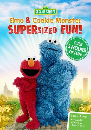 Sesame Street: Elmo and Cookie Monster Supersized Fun - On DVD 4/4