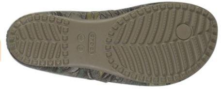 Crocs Women's Kadee II Realtree Xtra Flip Flops Bottom