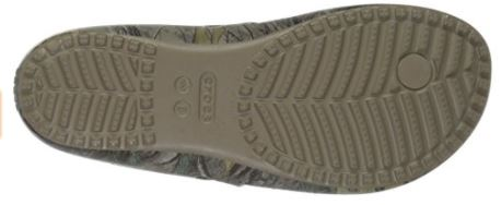 Crocs Women's Kadee II Realtree Xtra Flip Flops Bottom