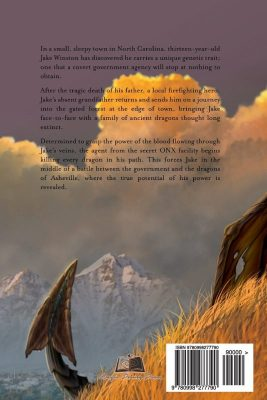 Jake & the Dragons of Asheville by Brian Kacica Back Cover