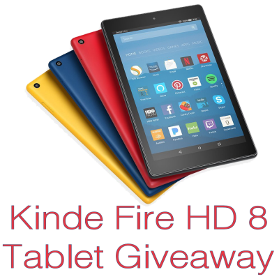 Kindle Fire HD 8 Tablet Giveaway