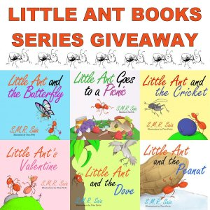 Little Ant Books Series Giveaway Ends 8/6