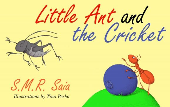Little Ant and the Cricket - Moral - You Can't Please Everyone - Little Ant Books Book 3 Cover