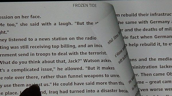 Reading Frozen Tide by Gerard Filitti for Book Review 1