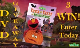 Trick or Treat on Sesame Street DVD Giveaway Ends 9/20 – 3 Winners