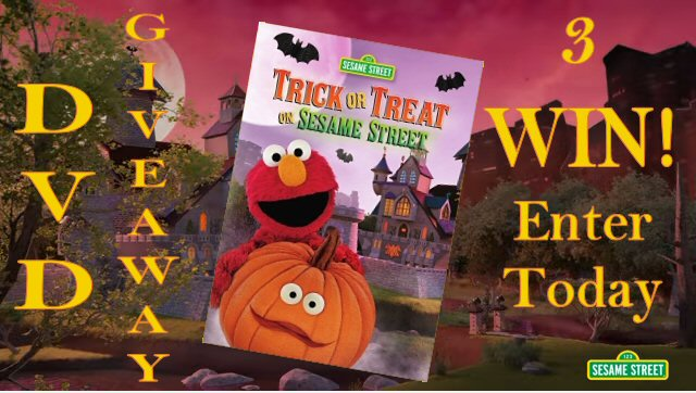 Sesame Street Trick or Treat on Sesame Street 3 WIN DVD Giveaway Enter Today