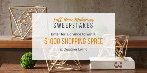 """Fall Home Makeover"" Sweepstakes"