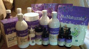 16 items in our NuNaturals Shipment