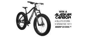 Framed Alaskan Carbon Fat Bike Giveaway Ends 11/1/17