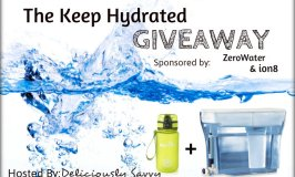 The Keep Hydrated Giveaway Ends 9/30
