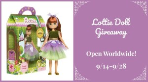 Lottie Doll Giveaway Ends 9/28