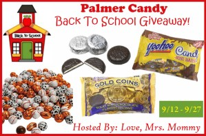 Palmer Candy BTS Giveaway