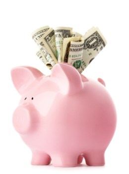 Saving Tips Piggy Savings Bank
