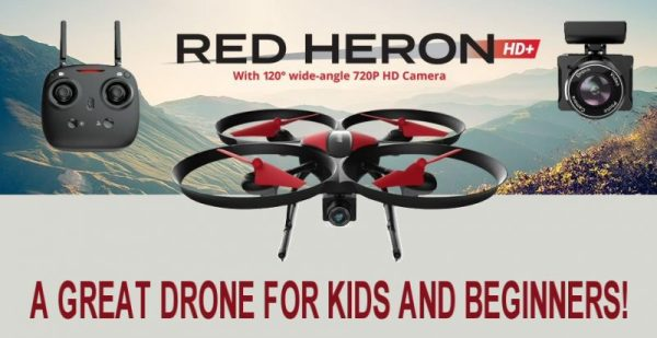 Red Heron A Great Drone For Kids and Beginners