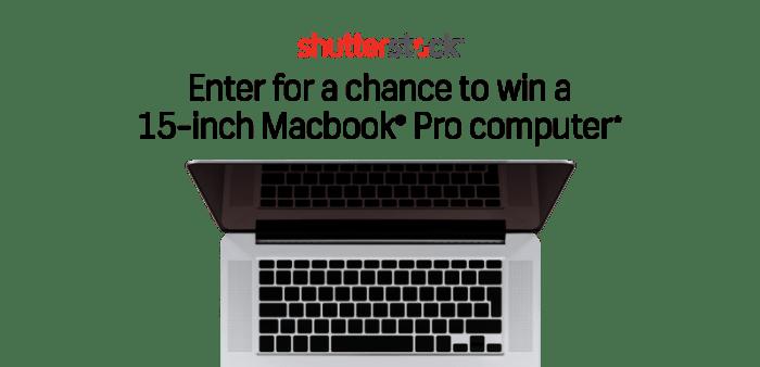 Shutterstock Fall Giveway Macbook Pro Computer