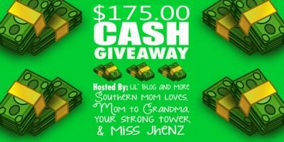 $175 Cash Giveaway