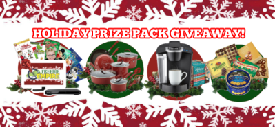 Holiday Giveaway 2017 – Prize Package Each Week – Nov 24 to Dec 15
