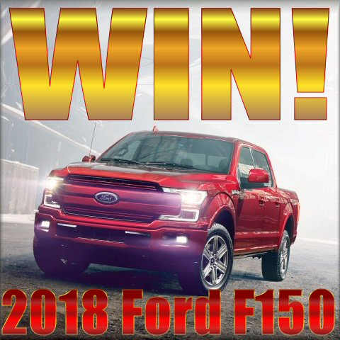 FORD F150 FUTURE OF TOUGH SWEEPSTAKES BUTTON