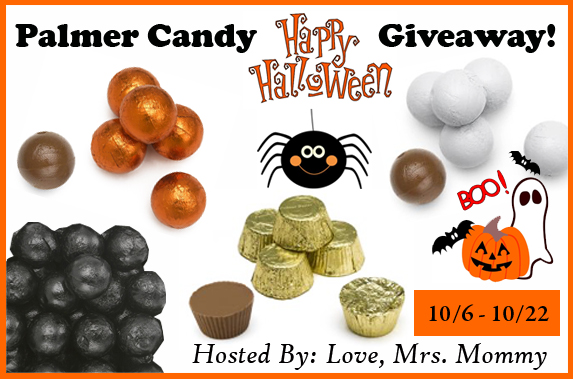 Palmer Candy Halloween Giveaway