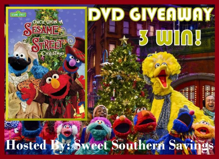 Sesame Street Once Upon a Sesame Street Christmas DVD Giveaway