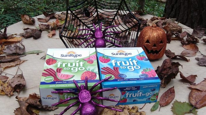 SunRype Fruit to Go Fruit Strips Healthy Snack Trick-Or-Treat