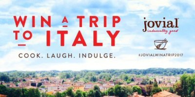 Win a trip to Italy in this jovial Culinary Getaway Sweepstakes