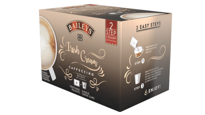 Baileys Irish Cream Single Serve Cappuccino Giveaway! Ends 12/10