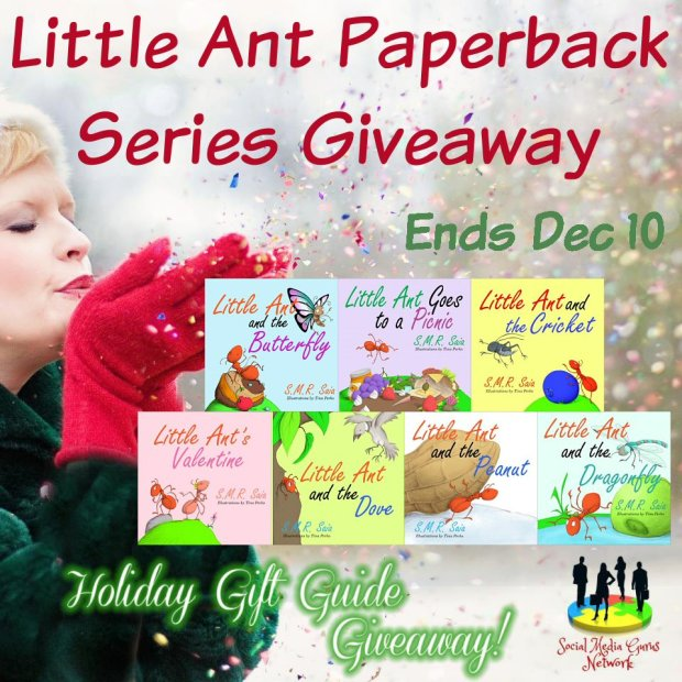 HOLIDAY GIFT GUIDE - Little Ant Paperback Series Giveaway