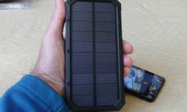 Stay Connected With This Portable Solar Power Bank