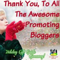 Thank You, To All The Awesome Promoting Bloggers