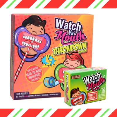 15% off Coupon Code for Watch Ya' Mouth Throwdown Edition! Expires 12/31