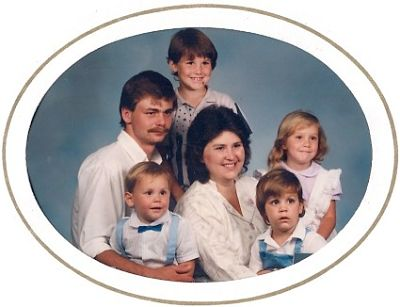 Family Picture Taken in 1988