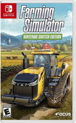 HOLIDAY GIFT GUIDE GIVEAWAY - Farming Simulator Nintendo Switch