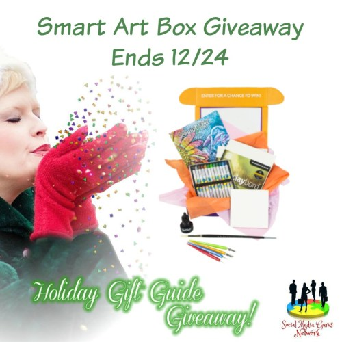 HOLIDAY GIFT GUIDE GIVEAWAY - Smart Art Box Giveaway