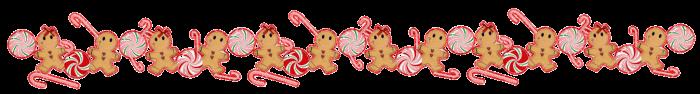 gingerbread candycane peppermint divider