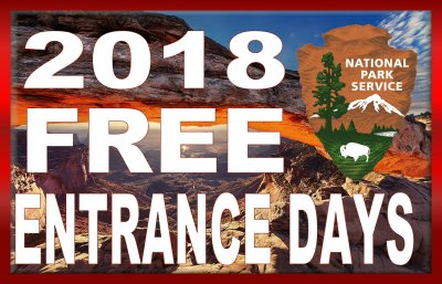 FREE National Parks Entrance Days for 2018