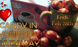 Cella's Chocolate Covered Cherry Coffee Candy In Your Cup Giveaway Ends 2/28