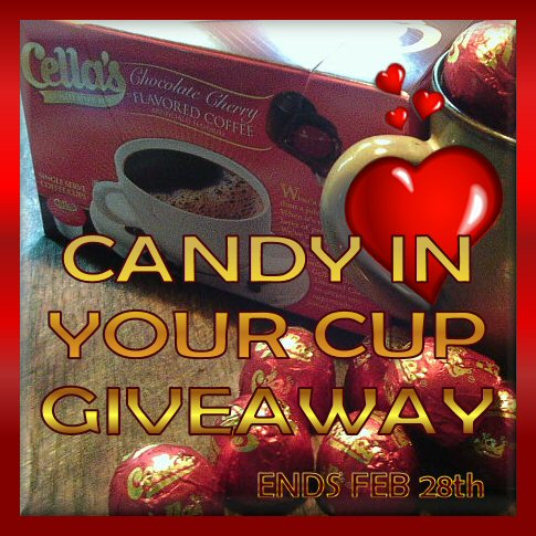 Cella's Chocolate Covered Cherry Coffee Candy In Your Cup Giveaway