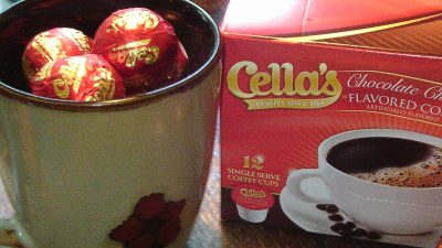 Cella's Chocolate Covered Cherry Coffee Candy In Your Cup