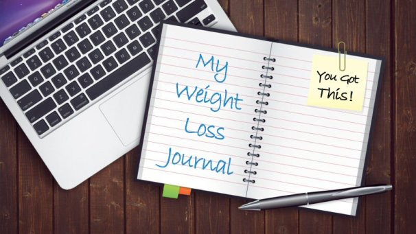 My Weight Loss Journal and Laptop - Olive Garden Dressing Recipe Makeover