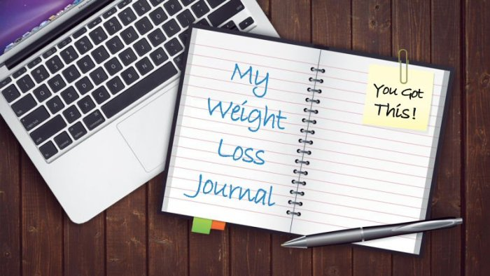 My Weight Loss Journal and Laptop - GOT CRAVINGS? Find out how to KISS YOUR CRAVINGS GOODBYE in this Weight Watchers' Freestyle Post