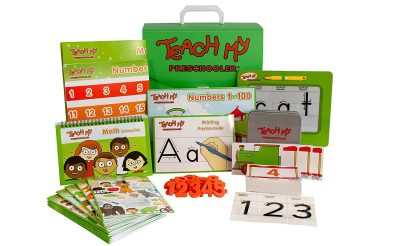 Teach My Preschooler Giveaway Ends 3/26