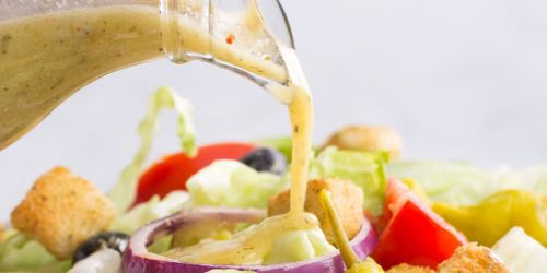 Weight Watcher's FreeStyle Weight Loss Journey Olive Garden Dressing