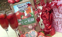 Make a Delicious Non-Alcoholic Valentine's Drink With Welch's Fruit Ciders