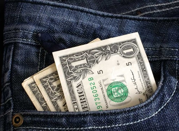 What to avoid buying at a dollar store - Cash Dollars in Front Pocket