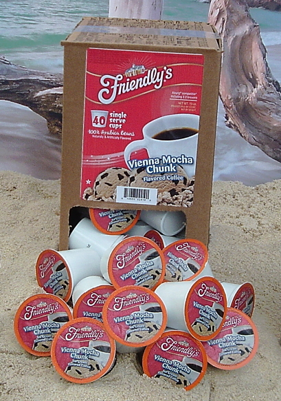 Friendly's Vienna Mocha Chunk Ice Cream Flavored Coffee