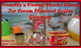 Friendly's Vienna Mocha Chunk Ice Cream Flavored Coffee Giveaway Ends 3/31