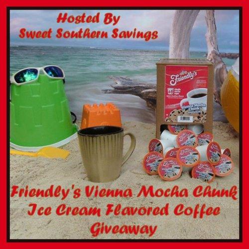 Friendly's Vienna Mocha Chunk Ice Cream Flavored Coffee Giveaway
